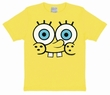 KIDS SHIRT - SPONGEBOB FACE - GELB