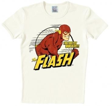 Logoshirt - Der rote Blitz Shirt - The Flash - DC Comics