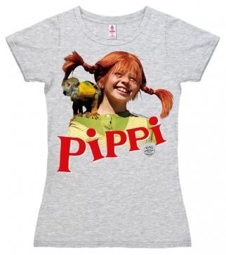 Logoshirt - Pippi Langstrumpf Nilsson - Girl Shirt