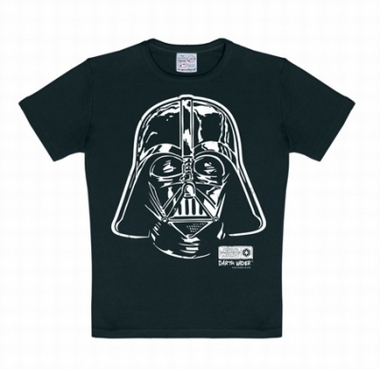Logoshirt - Star Wars Shirt Darth Vader Schwarz