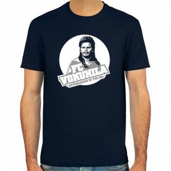 Mike Werner FC Vokuhila Fussball Shirt - Blau