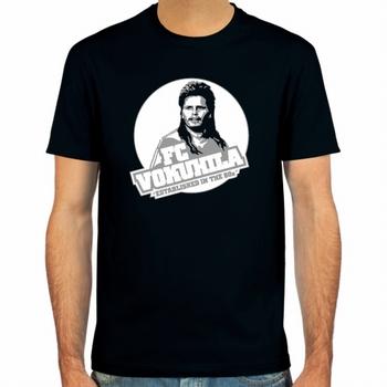 Mike Werner FC Vokuhila Fussball Shirt - Schwarz