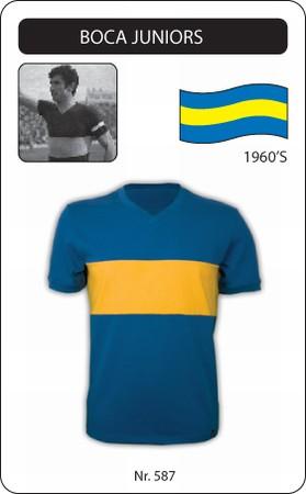 Boca Juniors Trikot Retro