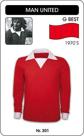 George Best Retro Trikot Manchester United