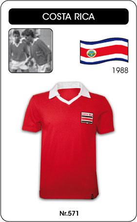Costa Rica Retro Trikot