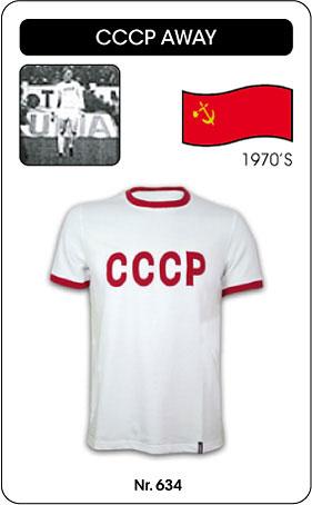 UDSSR Retro Trikot CCCP 1970