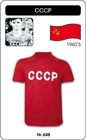 UDSSR Retro Trikot CCCP 1960