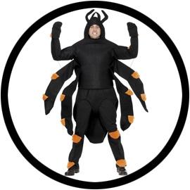 Spinnen Kostüm Erwachsene - Klicken für grössere Ansicht