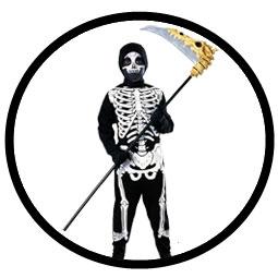 Skelett Kinder Kostüm  - Klicken für grössere Ansicht