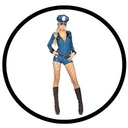 Polizistin Kostüm - Miss Demeanor - Klicken für grössere Ansicht