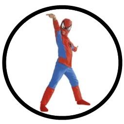 Spiderman Classic Kinder Kostüm - Klicken für grössere Ansicht