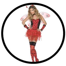 Sexy Marienkäfer Kostüm Deluxe - Klicken für grössere Ansicht