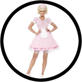 50er Diner Girl Kostüm - Klicken für grössere Ansicht