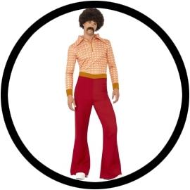 70er Disco Superguy Kostüm - Klicken für grössere Ansicht