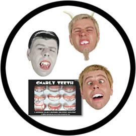 Falsche Zähne - Gebisse - Gnarly Teeth - Klicken für grössere Ansicht