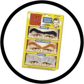 Falsche Augenbrauen - Klicken für grössere Ansicht