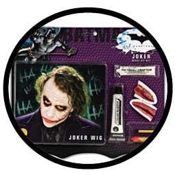 Joker Makeup Set & Perücke - Klicken für grössere Ansicht