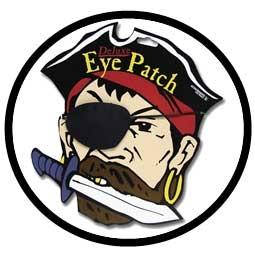 Augenklappe Pirat Deluxe - Klicken für grössere Ansicht