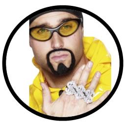 Dollarzeichen Ring - Rapper - Klicken für grössere Ansicht