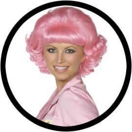 Frenchy Perücke pink 50er Jahre - Klicken für grössere Ansicht