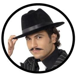 Gangster Hut Schwarz - Klicken für grössere Ansicht