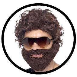 Hangover Kostüm Set - Bart, Brille und Perücke - Klicken für grössere Ansicht