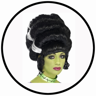 Hochsteck Perücke - Pin Up Frankie - Klicken für grössere Ansicht