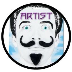 Künstler Bart - Klicken für grössere Ansicht