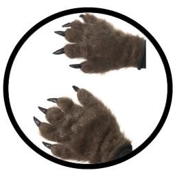 Monster Hände - Haarige Handschuhe - Klicken für grössere Ansicht