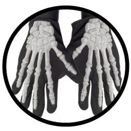 Skelett Hände Knochen Handschuhe - Klicken für grössere Ansicht