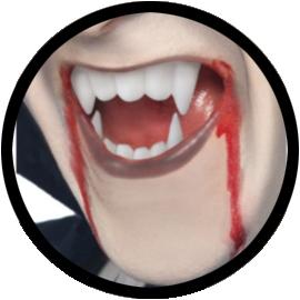 Vampir Kit - Kunstblut und Vampirzähne - Klicken für grössere Ansicht