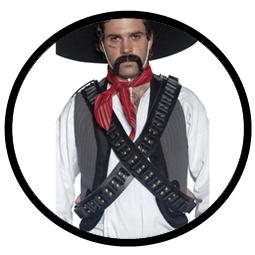 Western Patronengürtel Deluxe - Patronengurt - Klicken für grössere Ansicht