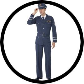 Air Force Captain Kostüm - Klicken für grössere Ansicht