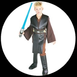 kost me von k 39 n 39 k anakin skywalker kinder kost m deluxe costumes verkleiden karnveval. Black Bedroom Furniture Sets. Home Design Ideas