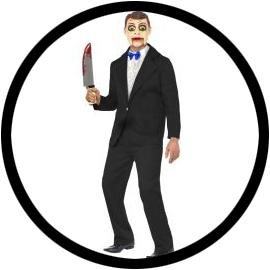 Bauchredner Ventriloquist Kostüm - Klicken für grössere Ansicht
