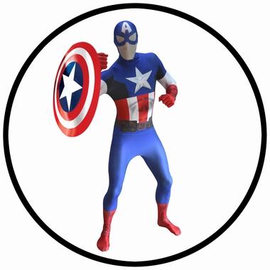 Captain America Morphsuit - Digitales Kostüm - Klicken für grössere Ansicht