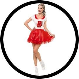 Cheerleader Kostüm  - Klicken für grössere Ansicht