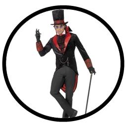 Dracula Kostüm Herren Gothic - Klicken für grössere Ansicht