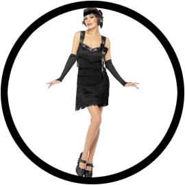 Flapper Foxy Kostüm schwarz - Klicken für grössere Ansicht
