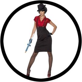 Gangsterbraut Kostüm 20er Jahre - Klicken für grössere Ansicht