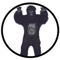 Gorilla Kostüm - Affen Kostüm Deluxe - Klicken für grössere Ansicht
