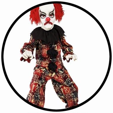Grusel Clown Kostüm - Kinder - Klicken für grössere Ansicht