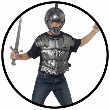 Helm mit Schwert und Brustpanzer - Mittelalter - Klicken für grössere Ansicht