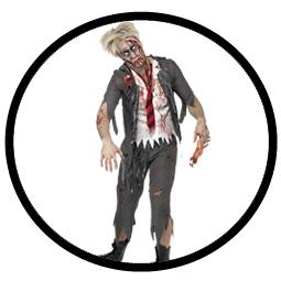 High School Boy Zombie Kostüm - Schuljunge - Klicken für grössere Ansicht