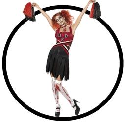 High School Horror Cheerleader Kostüm - Klicken für grössere Ansicht