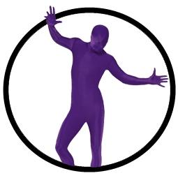 Körperanzug - Bodysuit - Violett - Klicken für grössere Ansicht