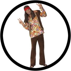 Psychadelic Hippie Kostüm - Klicken für grössere Ansicht