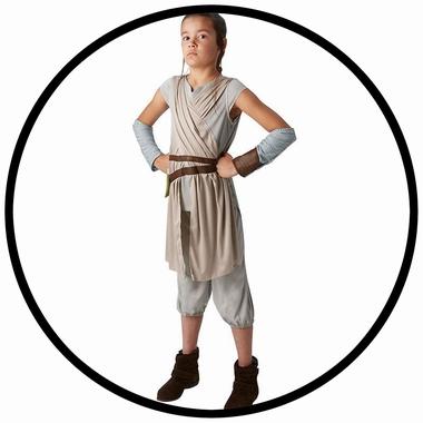 Rey Kinder Kostüm Deluxe EP7 - Star Wars - Klicken für grössere Ansicht