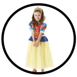 Schneewittchen Kinder Kostüm Glitzer - Disney - Klicken für grössere Ansicht