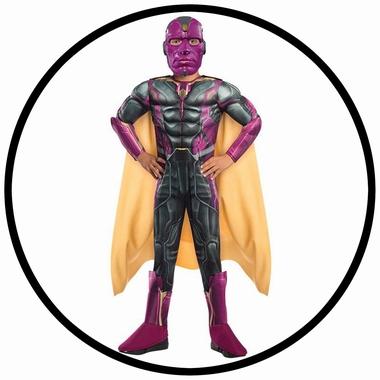 Vision Avengers 2 Deluxe Kinder Kostüm - Marvel - Klicken für grössere Ansicht